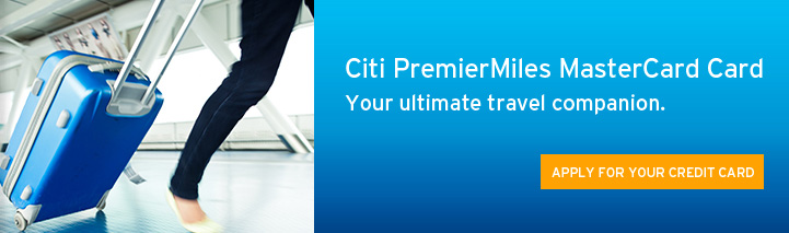 Citibank PremierMiles MasterCard Card Your ultimate travel companion