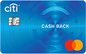 Citi Visa Cash Back Credit Card