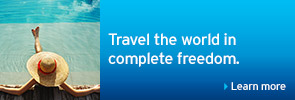Travel the world in complete freedom.